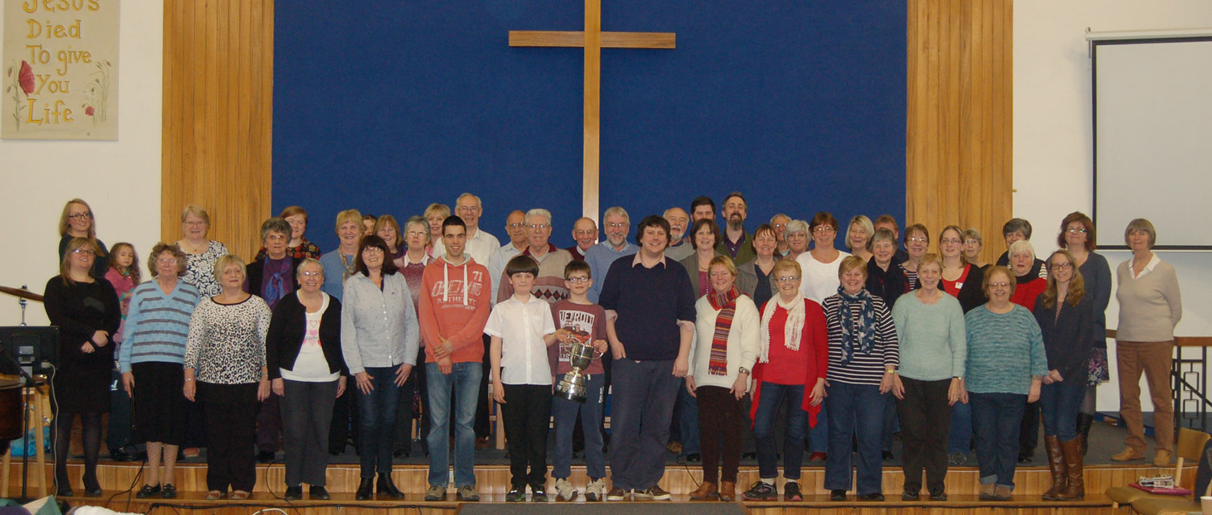 Coleford Community Choir at Coleford Baptist Church