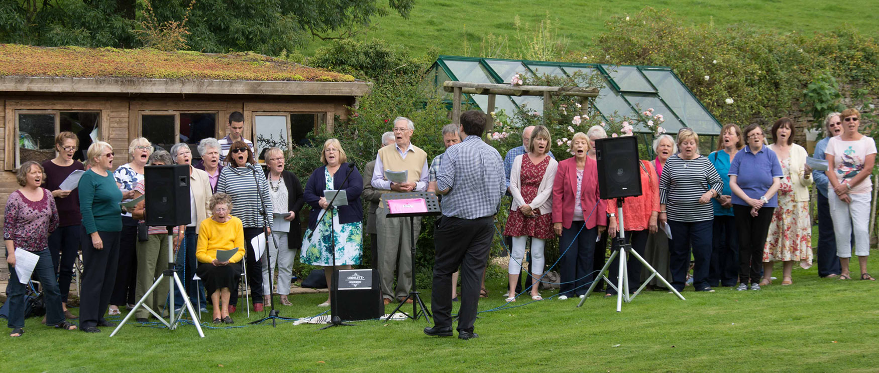 Coleford Community Choir at Clearwell