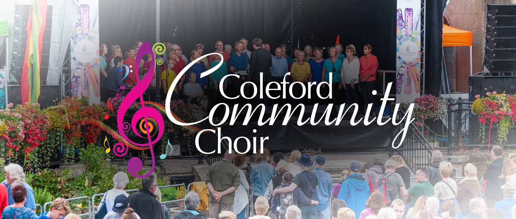 Coleford Community Choir at Coleford Music Festival 2017