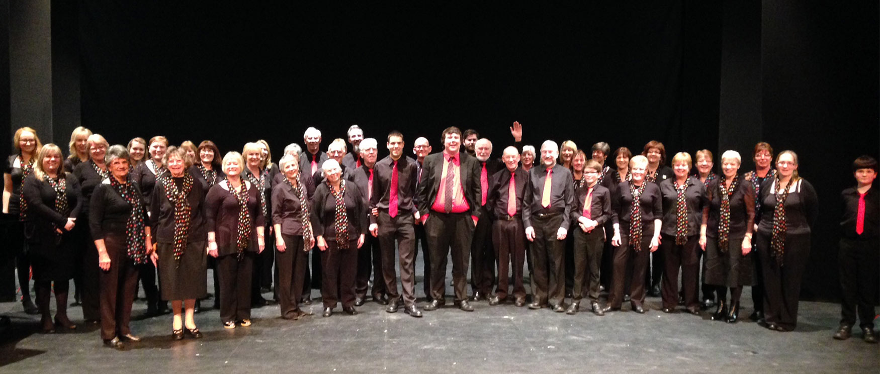 Coleford Community Choir at Hereford Performing Arts Festival