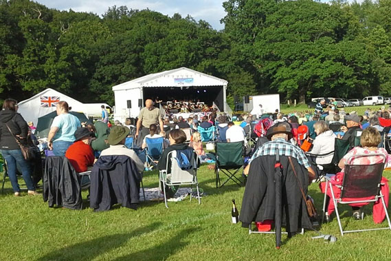 Coleford Community at Proms in the Park